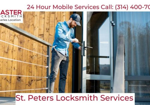 Locksmith Services In St. Peters, MO 63376 (314) 400-7054