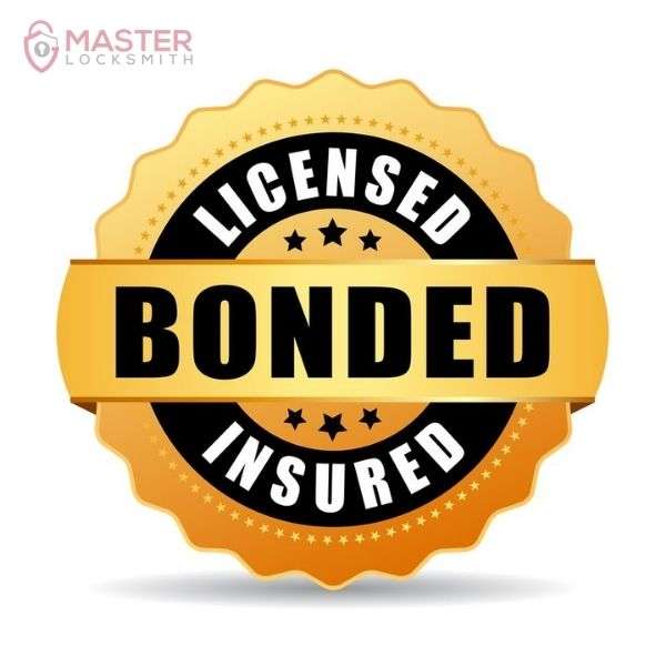 Licensed & Insured - Master Locksmith
