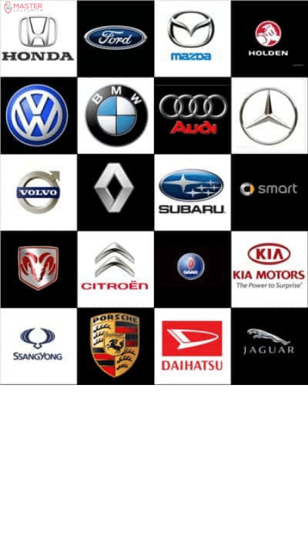Car Key Brands- Master Locksmith