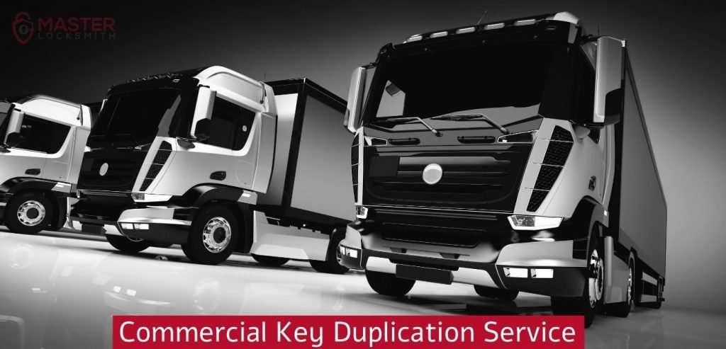 Commercial Key Duplication Service- Master Locksmith