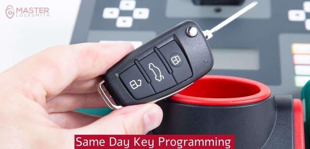 Same Day Key Programming- Master Locksmith