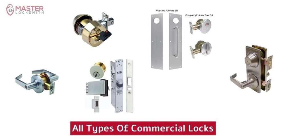 All Types Of Commercial Locks- Master Locksmith