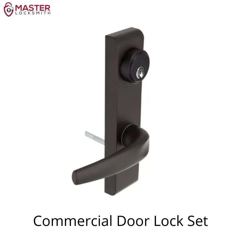 Commercial Door Lock Set-Master Locksmith (314) 400-7054