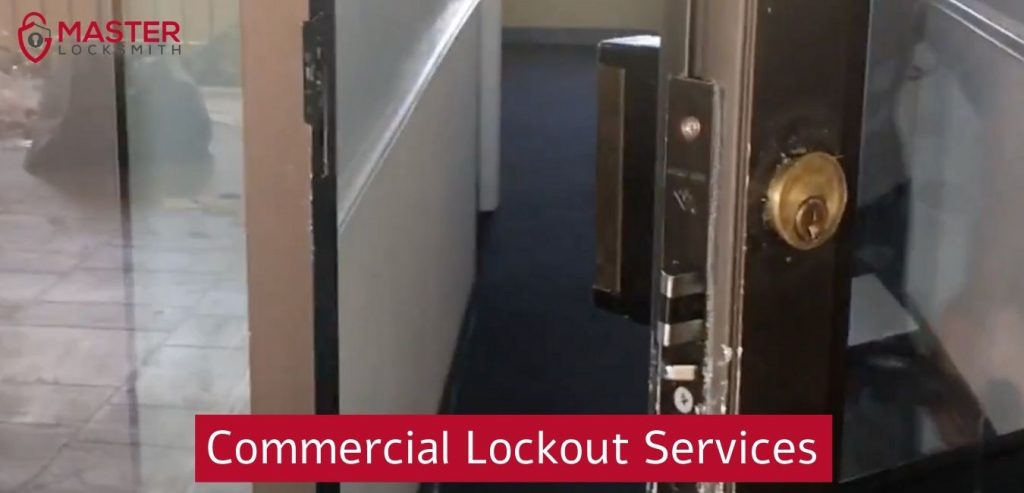 Commercial Lockout Services- Master Locksmith