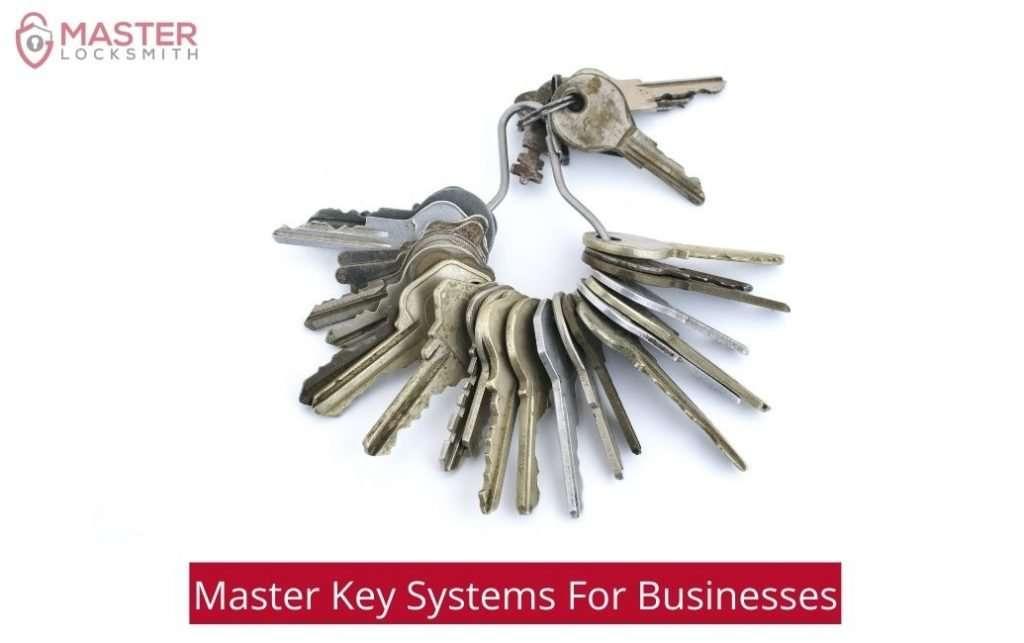 Master Key System For Businesses - Master Locksmith (813) 760-1066