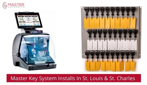 Master Key System Installations In St. Louis & St. Charles MO - Master Locksmith (813) 760-1066 (1)