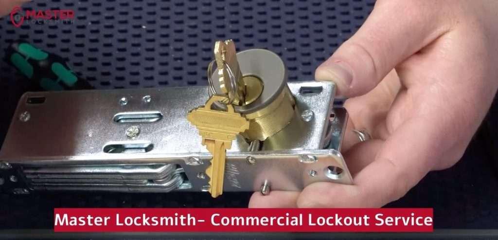 Master Locksmith's Commercial Lockout Services- Master Locksmith