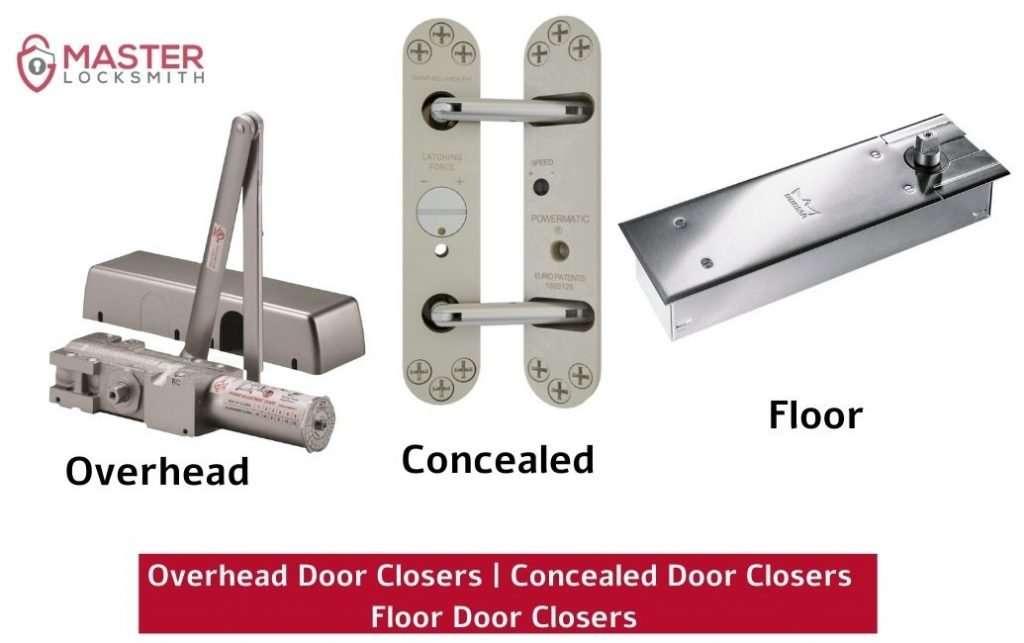 Overhead Door Closers Concealed Door Closers Floor Door Closers- Master Locksmith (813) 760-1066