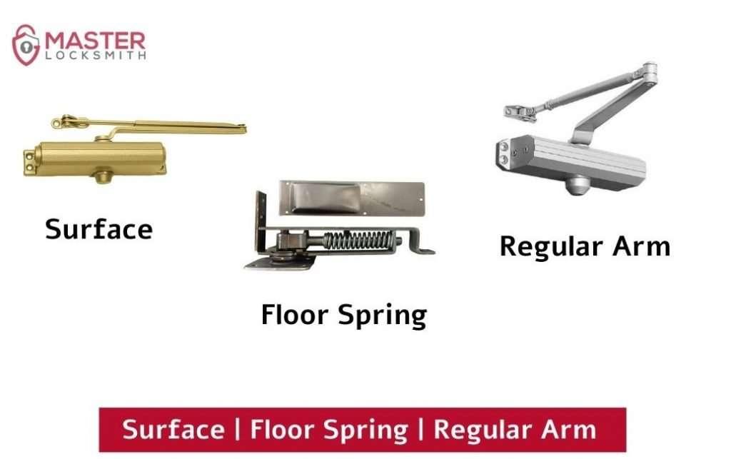Surface Floor Spring Regular Arm Door Closers- Master Locksmith (813) 760-1066