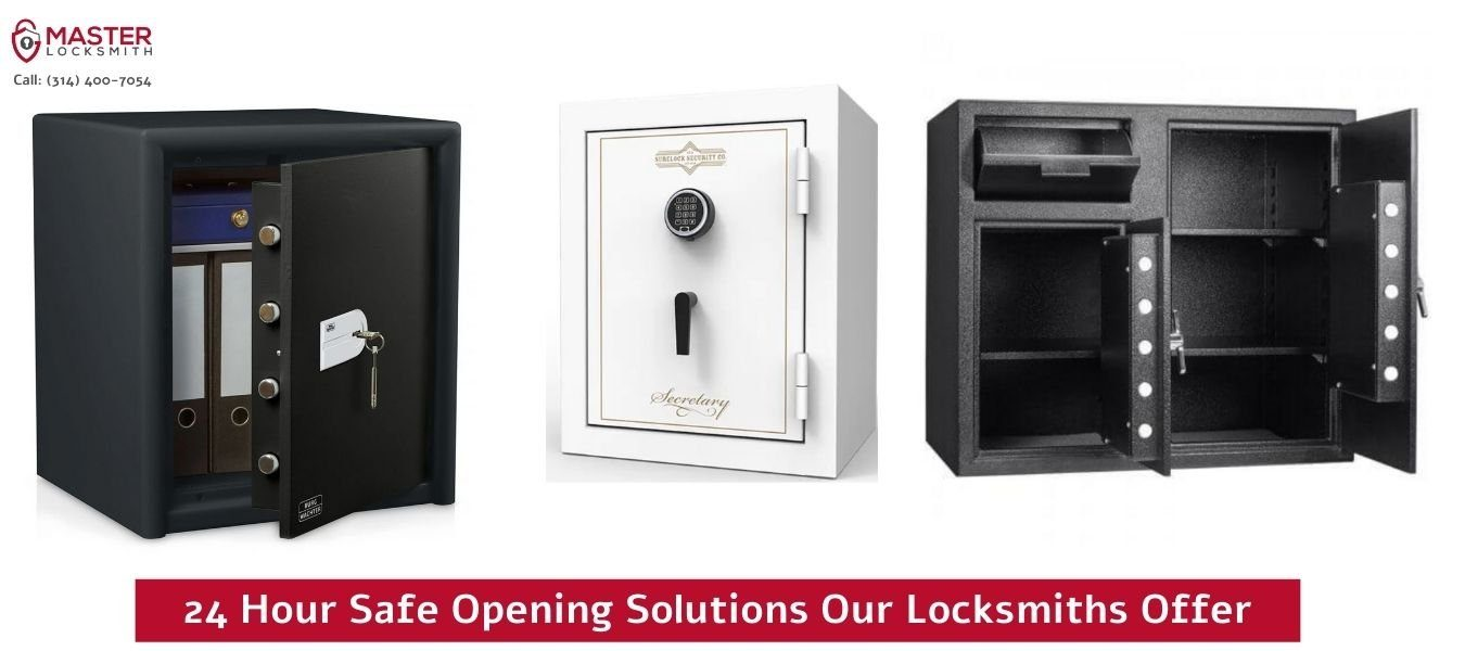 24 Hour Safe Opening Solutions Our Locksmiths Offer - Master Locksmith