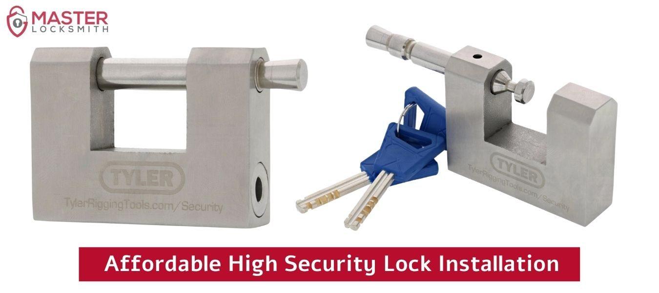 Affordable High Security Lock Installation- Master Locksmith (314) 400-7054 (1)