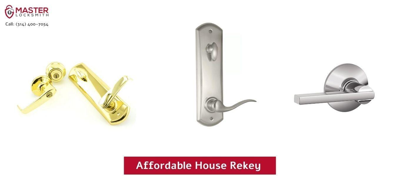 Affordable House Rekey - Master Locksmith