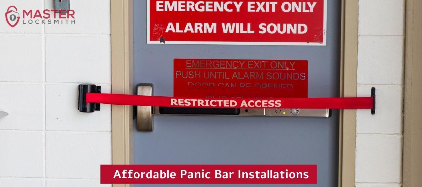 Affordable Panic Bar Installations- Master Locksmith (314) 400-7054 (1)