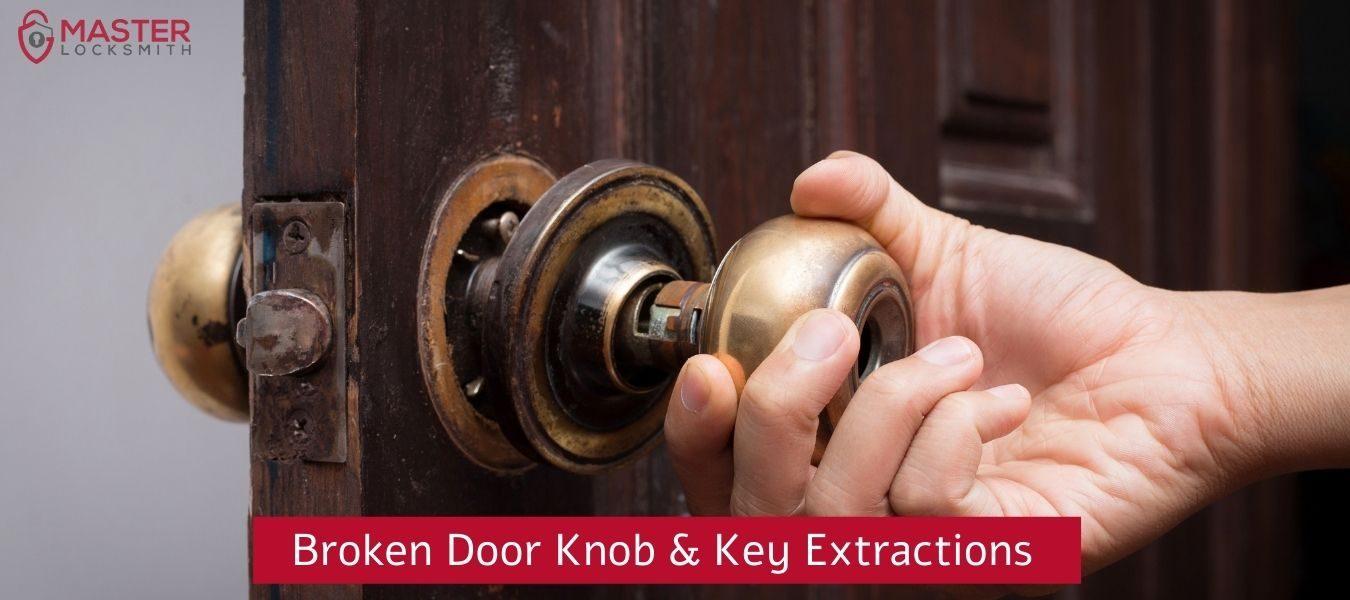 Broken Door Knob And Key Extractions-Master Locksmith (314) 400-7054