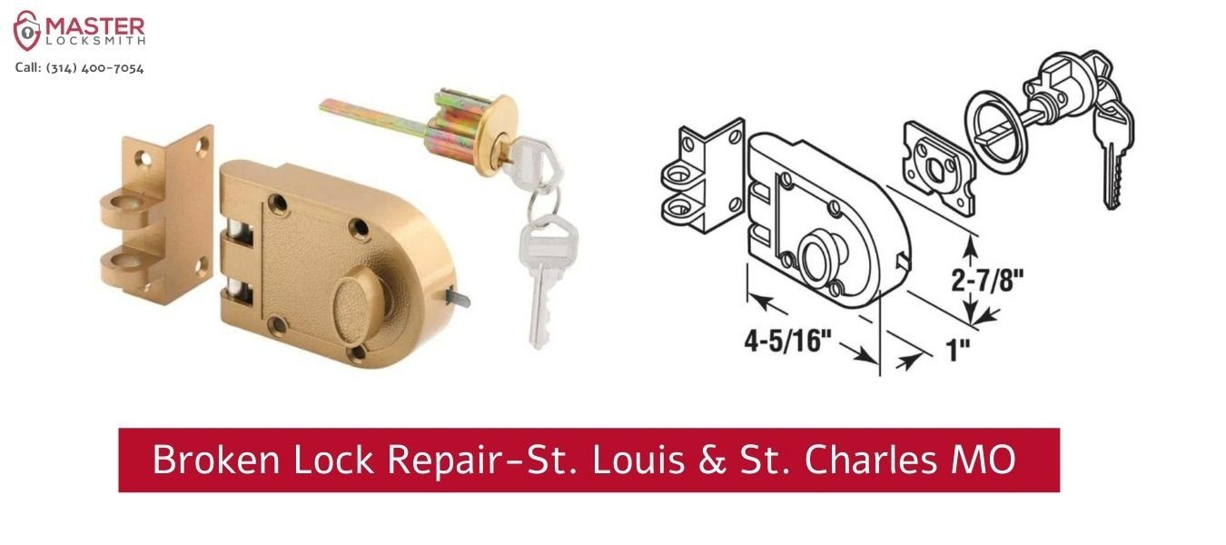 Broken Lock Repair St. Louis And St. Charles MO- Master Locksmith (1)