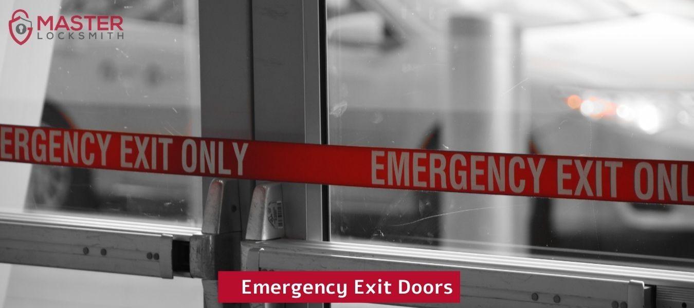 Emergency Exit Doors- Master Locksmith (314) 400-7054