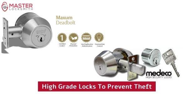 High Grade Locks To Prevent Theft- Master Locksmith (314) 400-7054 (1)
