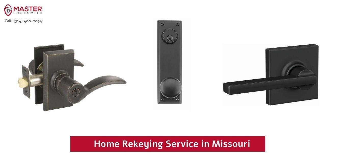 Home Rekeying Service in Missouri - Master Locksmith