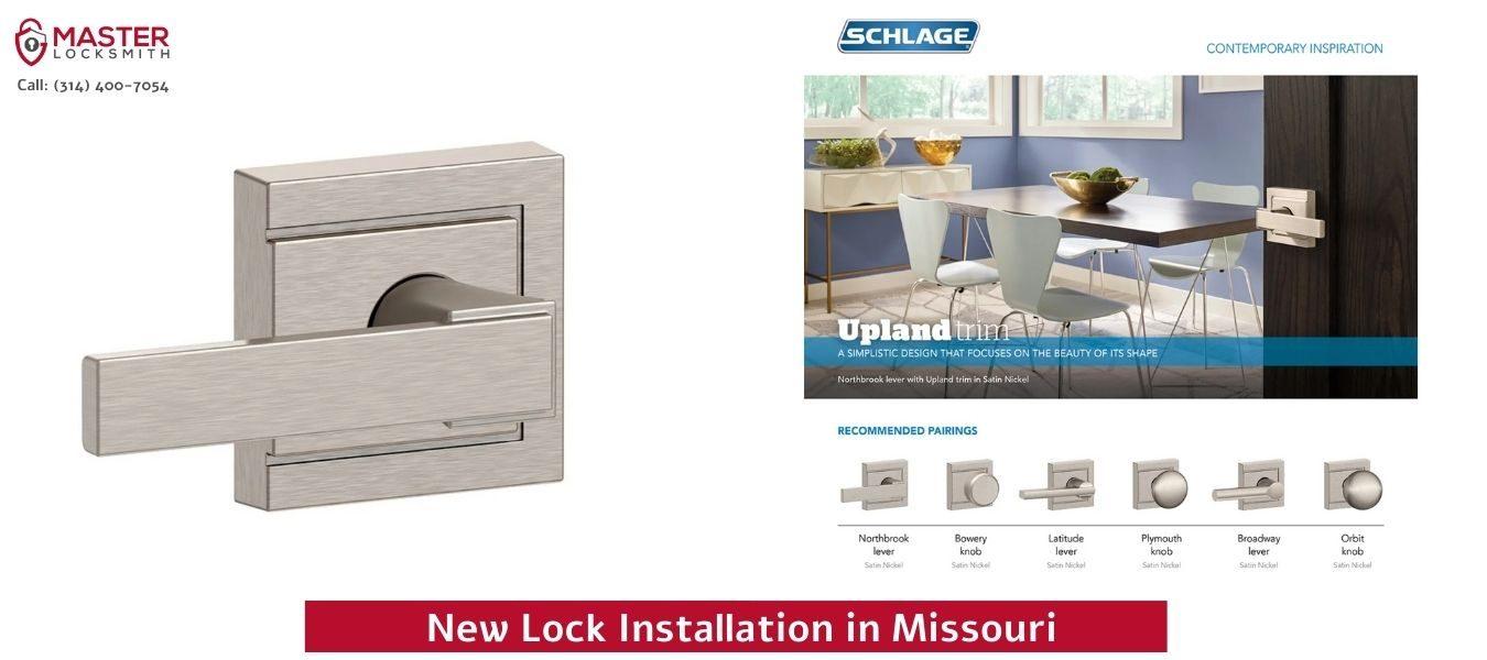 New Lock Installation in Missouri- Master Locksmith