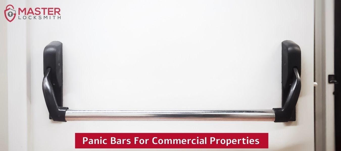 Panic Bars For Commercial Properties- Master Locksmith (314) 400-7054