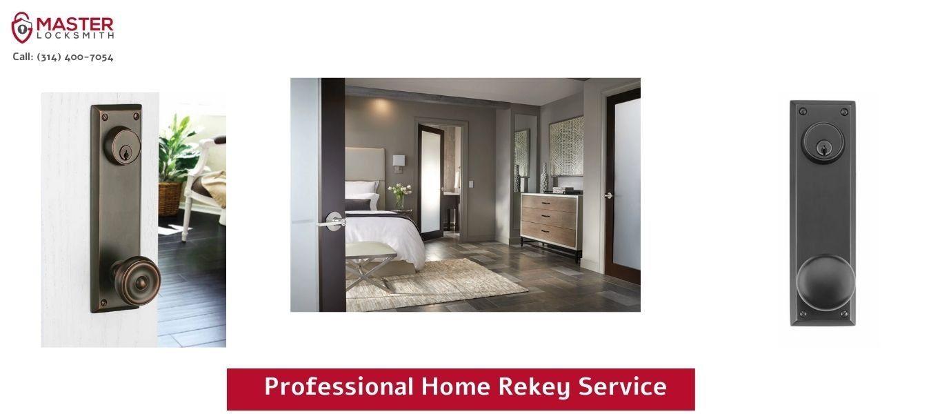 Professional Home Rekey Service - Master Locksmith