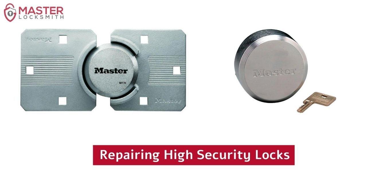 Repairing High Security Locks- Master Locksmith (314) 400-7054