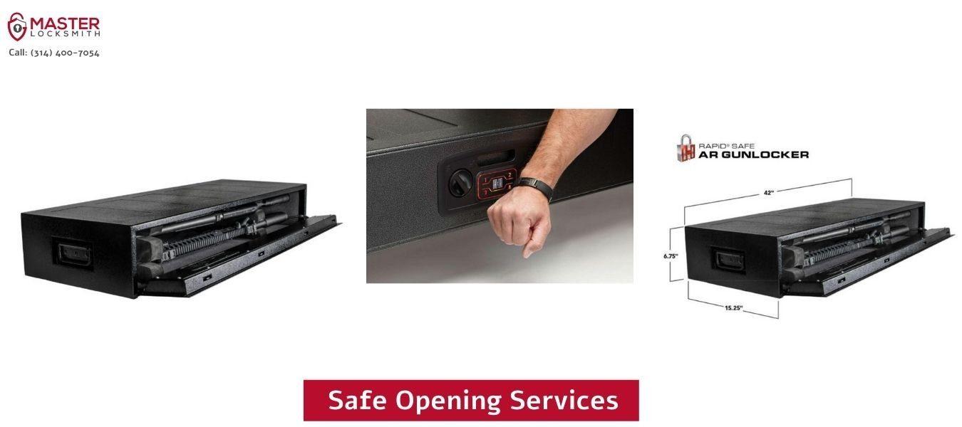 Safe Opening Services - Master Locksmith