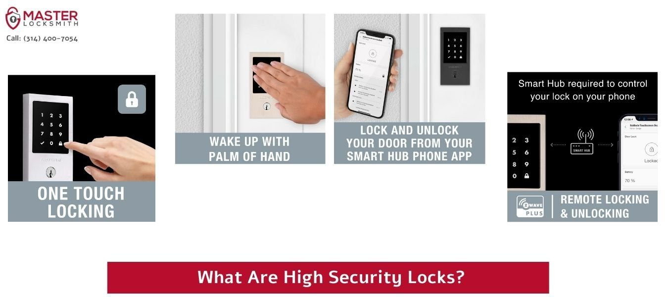 What Are High Security Locks- Master Locksmith