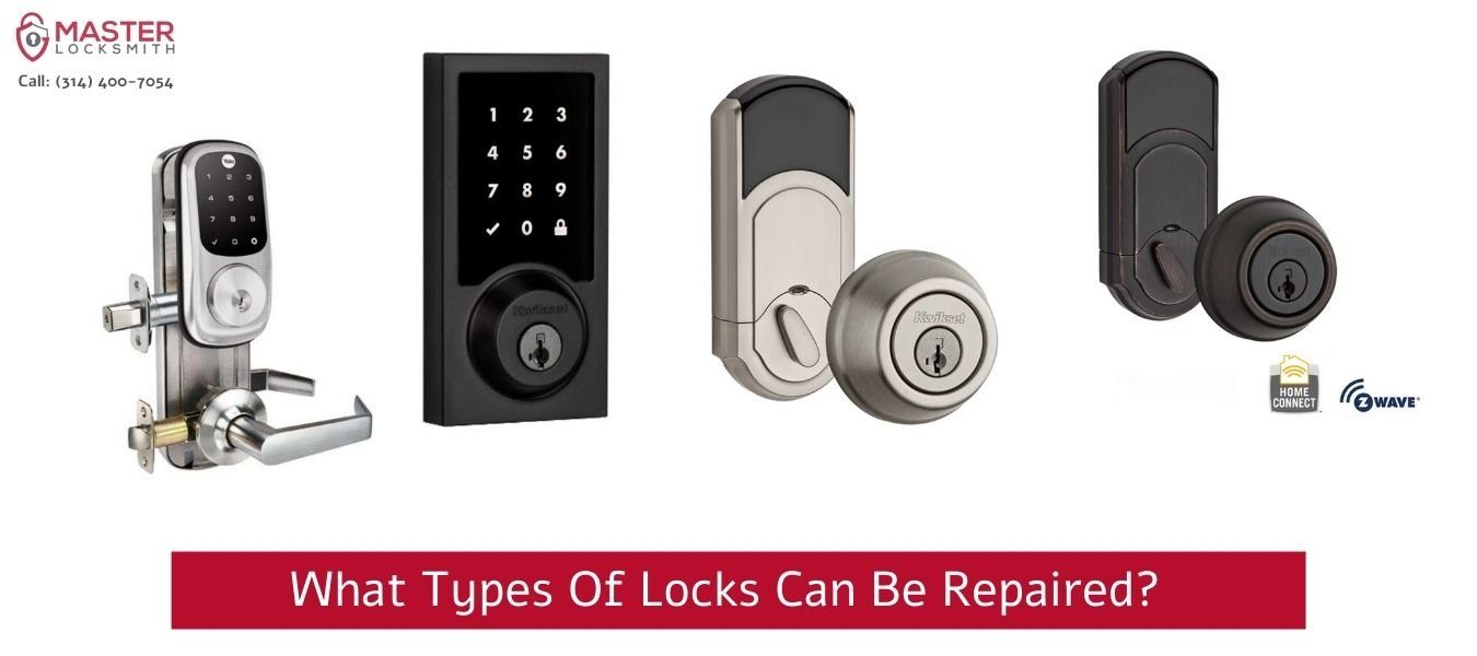 What Types Of Locks Can Be Repaired- Master Locksmith